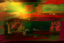 My Abstract Art / Giclee prints of abstract paintings I have done on paper and canvas with digital enhancement. Inspired by the landscapes of my native southwest.