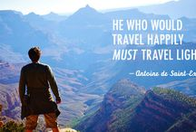 Travel Quotes / Our favorite travel and packing quotes for inspiration.