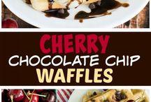 Waffles, Pancakes, French Toast