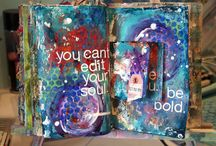 Art Journaling Love: Paint / by Crafty Lou