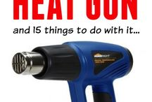 Heat Gun Crafts