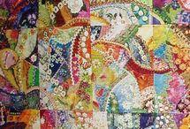 quilt/crazy quilt / by Diana Daschel