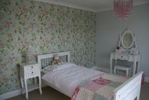 Evie's bedroom - the end result.