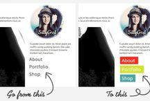 html/css tutorials / by Amy T Schubert