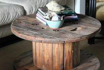 selbst gebaute Möbel