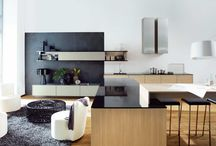Kitchen & Living cabinetry combined