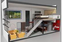 interiores para proyecto