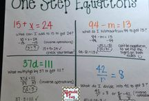 6th Grade Math Equations and Inequalities