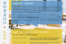 Smart Pop Classroom Materials / Smart Pop's free classroom materials, compatible with Common Core. Lexile measures, lesson plans, multimedia ideas, and more!