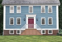 Colonial Home / by Amanda Girl