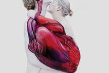 body paint artistic shoot