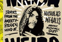 Mega Weird / A collection of hilarious short stories from twenty-five year old Internet sensation Nicholas Megalis on his distinctively weird life and childhood, fully illustrated by Tom Megalis, his celebrated artist and animator dad.