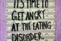 B-eat-ing eating disorders / Eating disorders suck, so I hope these quotes, pictures and ideas help anyone in need.