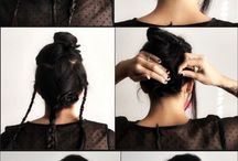 4 Hair Updos / by Amira Zaky