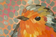Birds in Art / Beautiful birds to help you create your own pictures.