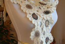 Japanese flowers crochet