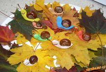 поделки на осень