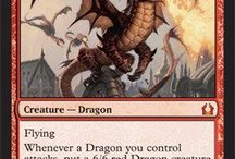 Magic the gathering: Red Cards