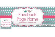 Facebook Banner / Wow your fans and make your page look professional with these amazing Facebook banner designs. Discover a wide variety of designs to make your page look stylish. Seasonal design are also include.  Shop these designs on RhondaJaiDesigns.com. Get 10% Off with discount code PINTEREST10