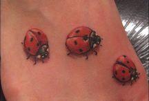 Marienkäfer-tattoos