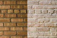 face brick interiors