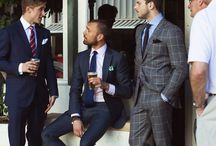 Suits / Great looks in suit wear. / by Dal Tee