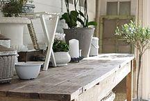 puutarha ruukutuspöytä