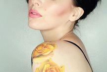 Tattoo fleur