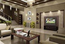 Стили для гостиных комнат