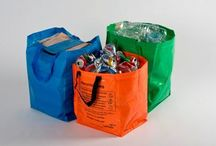 Sacks for Kerbside Recycling / Range of sacks & bags for collecting recyclables & garden waste plus Boxhat covers & Seagull Proof Sacks