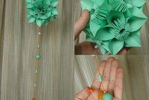 Wedding Origami / Origami decorations for weddings