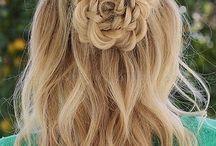 Trenzas en forma de flor - Flower braid