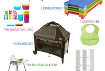 Must have items creche