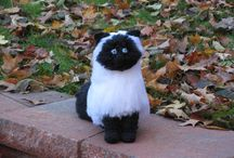 Kitty Crochet / My new line of cat patterns.