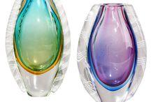 Glass Vases & Art