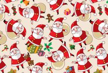 Christmas backgrounds labels