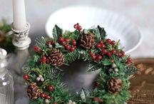 クリスマス / クリスマスリース、オーナメント