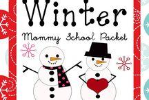 Preschool January Ideas