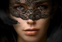 Masks / Masks come in a variety of forms, both hiding and revealing the spirit within.