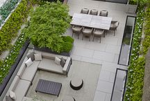 courtyard seating