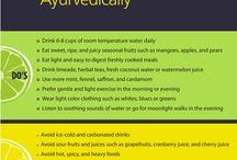 Ayurveda cooking & eating