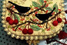 Côté Broderies... Embroidery