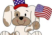 USA / USA educational themes for children.
