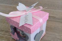 Boite dragées / Petite boite dragées créer pour le baptême d une petite fille