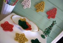 Christmas tree free patt / Crochet