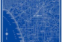 L.A.Cali blue prints them/now / by V Arlain