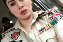 who is this? why is her pic shared in watsap as a police inspector?