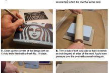 técnicas cerámicas de decoración