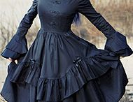 Gothic Fashion / Gothic fashions, mostly for the ladies. Dark fantasy and a little punk also find there were onto here.