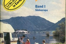 Old editions of European Campsite guides / Here's a little selection of old editions of some of the best european campsite guides.